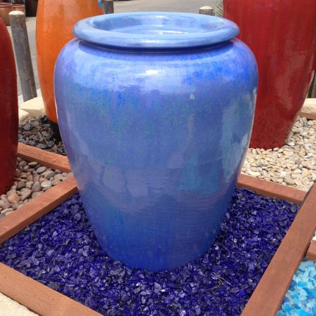 Ocean Blue™ Landscape Glass (Large ¾ inch - 1 ½ inch)