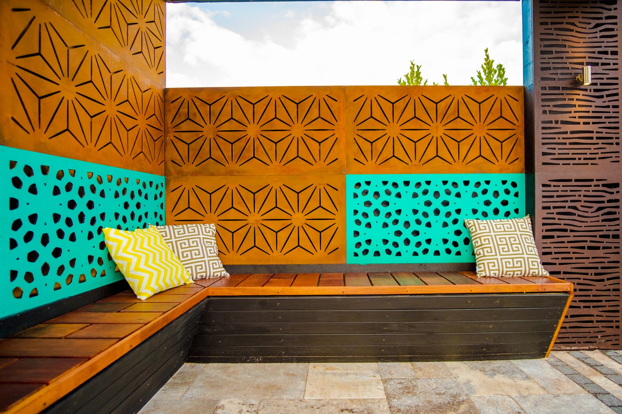picture of marakesh outdeco garden screens