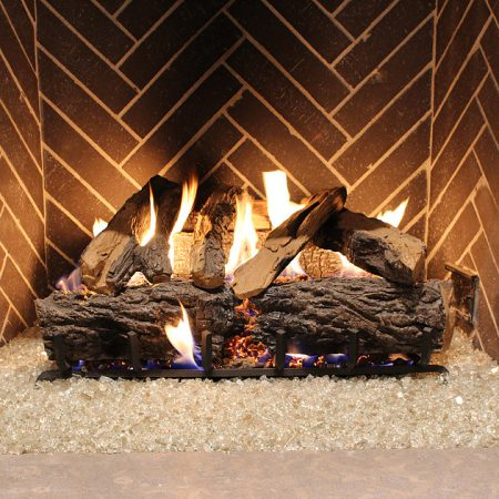 Indoor Fireplace - Crystal Reflective Fire Glass (¼ inch)