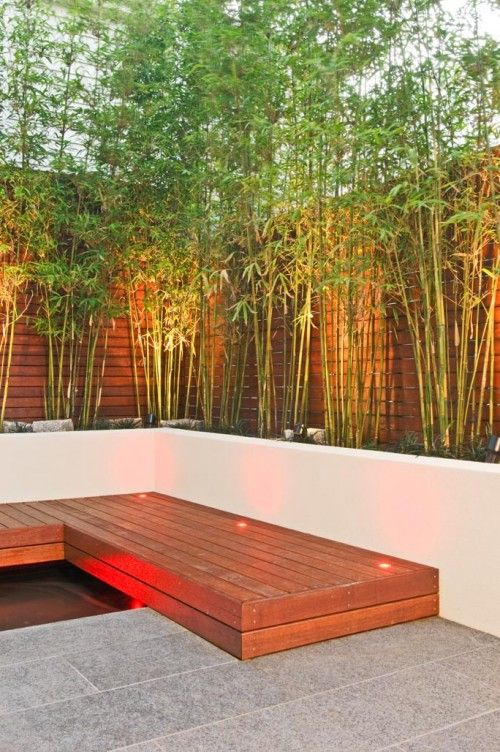 bamboo, light, panel