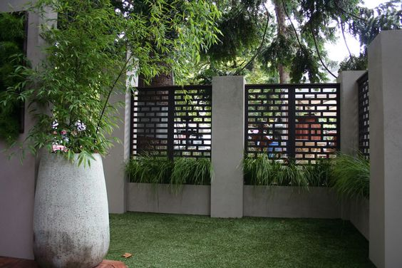privacy panel fence
