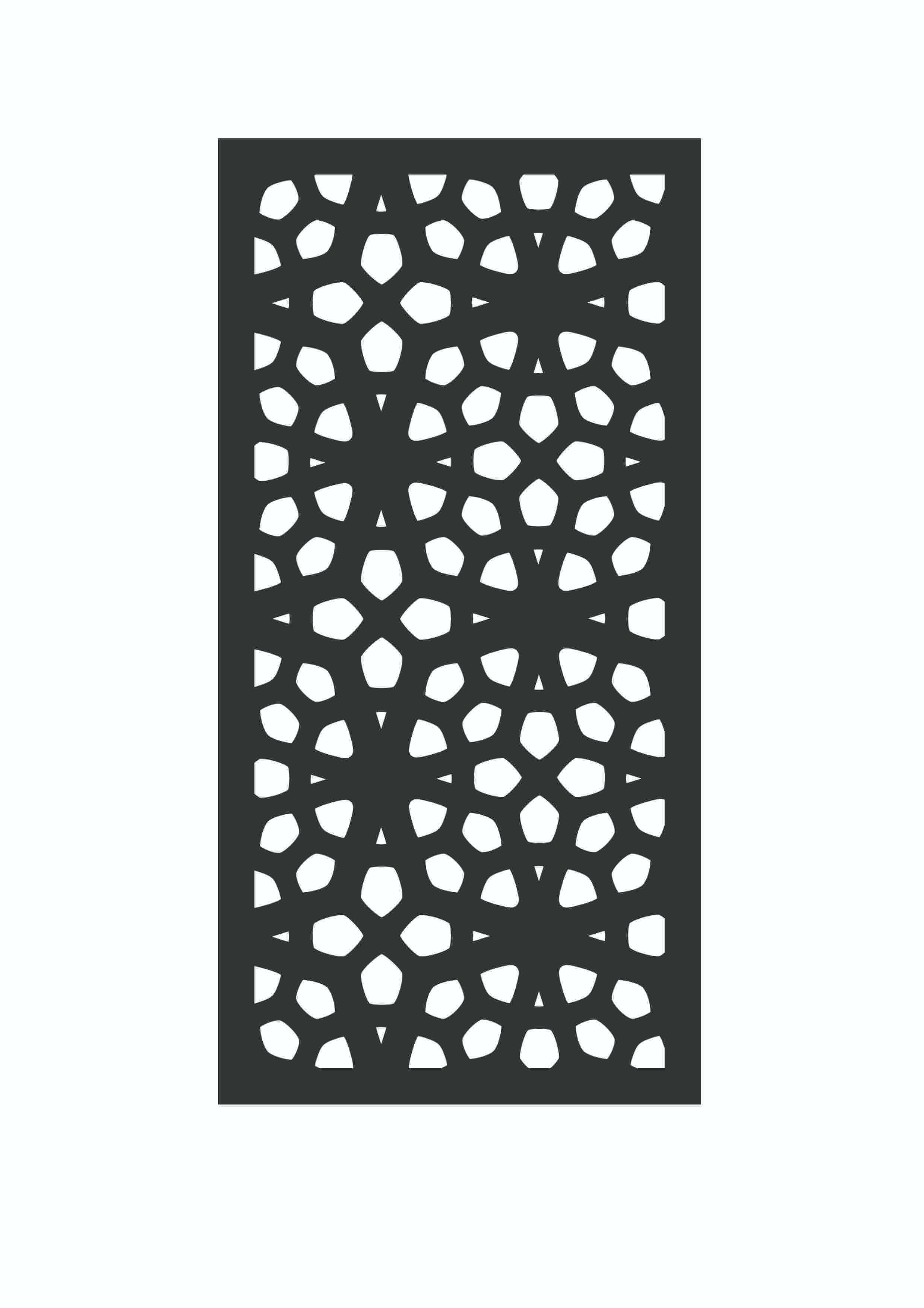 picture of outdeco marakesh privacy panel