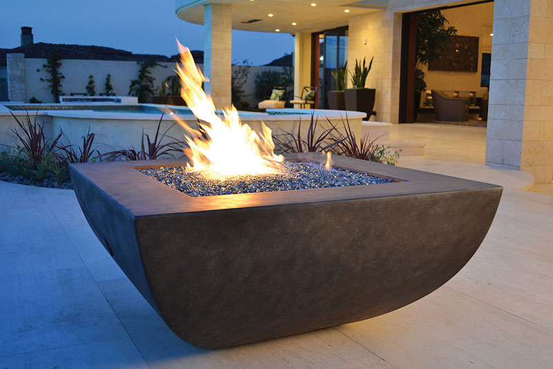 There are two different types of fire glass to choose from. The Recycled  Glass and the Tempered Reflective Glass. There is a different process for  making ... - Fire Pit Glass - Everything You Need To Know