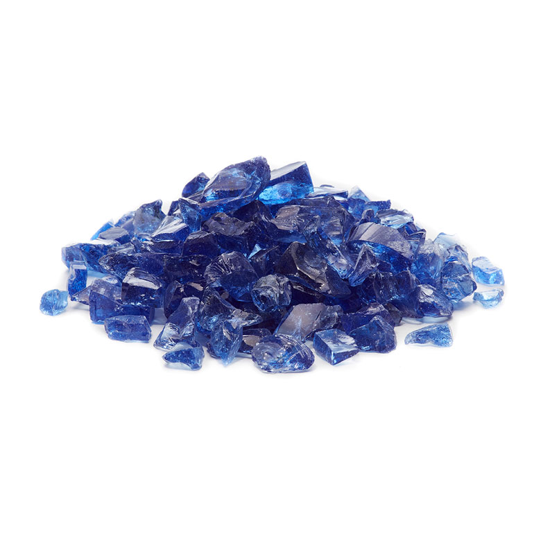 picture of ocean blue fire glass