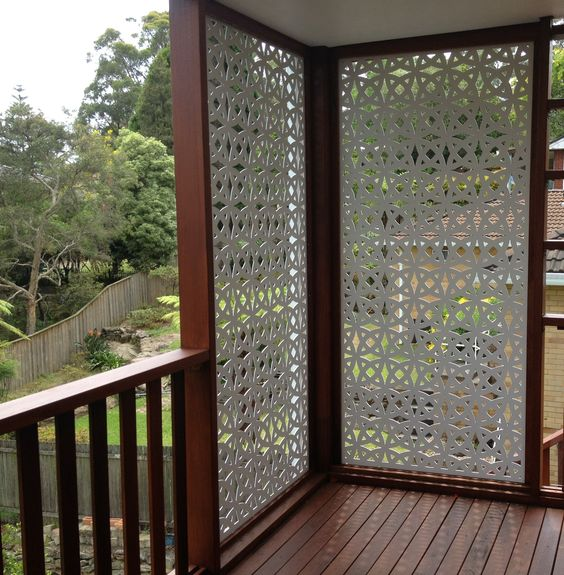 privacy panel deck