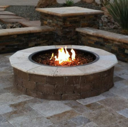 Large Firepit for Large Seating Areas