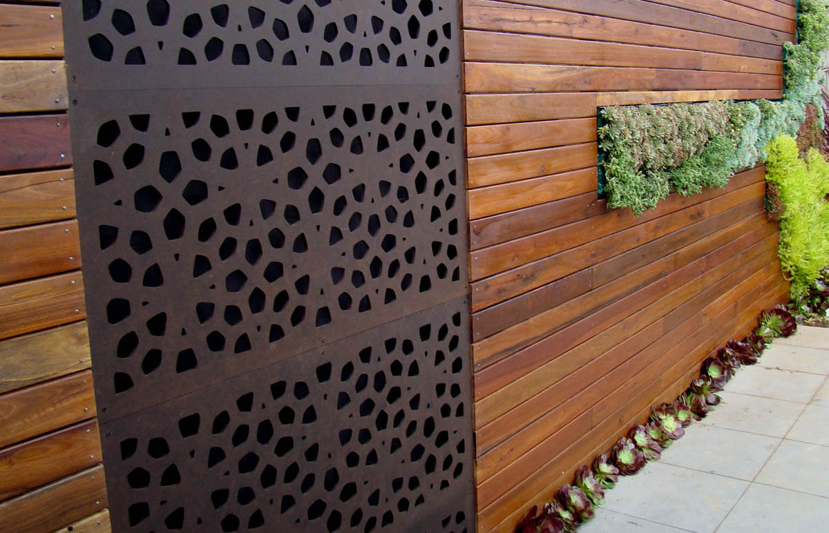 Decorative Fence Panels: 9 Creative Guide - Exotic Pebbles and